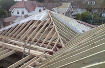 Timber Roof frame in Thanet